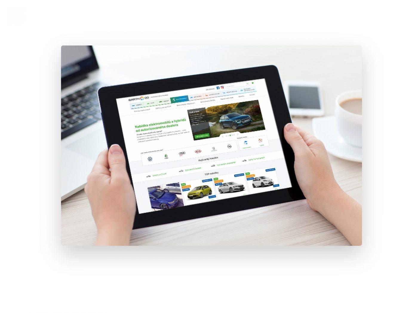 On-line prodej vozů BARTH-GO.cz